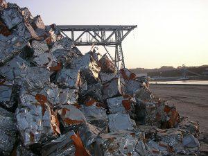 بازیافت زباله های آهنی